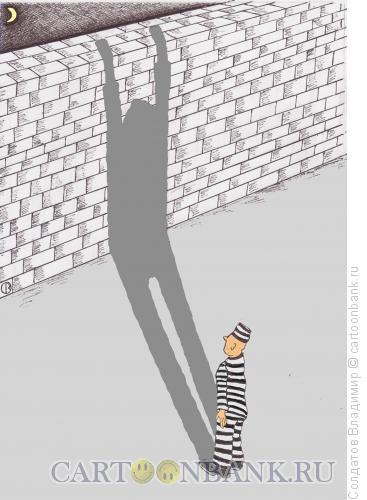 Карикатура: Тень, Солдатов Владимир