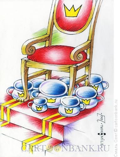 Карикатура: Ночные горшки, Смаль Олег