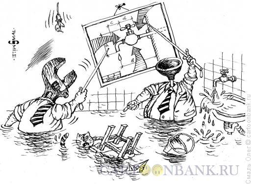 Карикатура: Всю систему нужно менять..., Смаль Олег