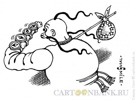 Карикатура: Выбор Украины, Смаль Олег