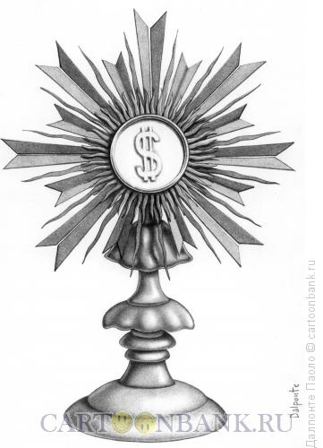 Карикатура: Новый бог, Далпонте Паоло