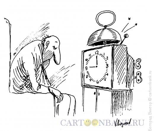 Карикатура: Лучший из будильников, Богорад Виктор