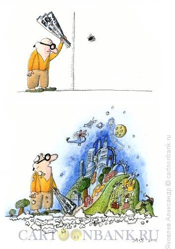 Карикатура: Газета, Яковлев Александр