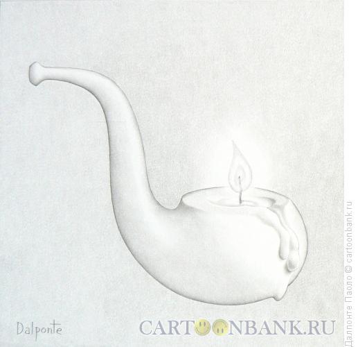 Карикатура: Трубка, Далпонте Паоло