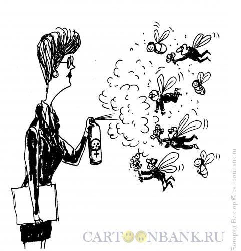 Карикатура: Бизнес-вумен, Богорад Виктор