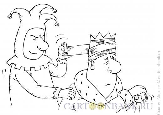 Карикатура: Головная боль, Смагин Максим
