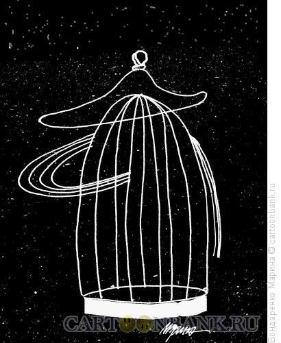 Карикатура: Наполеон - Клетка, Бондаренко Марина