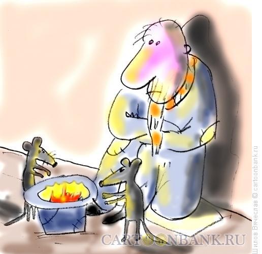 Карикатура: Огонек, Шилов Вячеслав