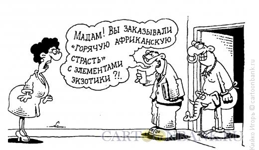 Карикатура: Элементы экзотики, Кийко Игорь