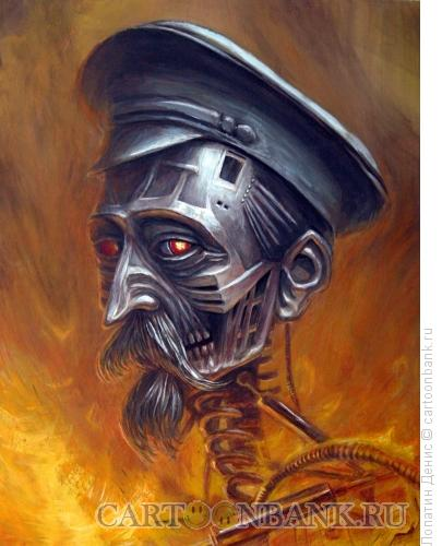 Карикатура: Железный Феликс, Лопатин Денис