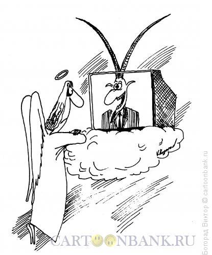 Карикатура: Черт знает что, Богорад Виктор