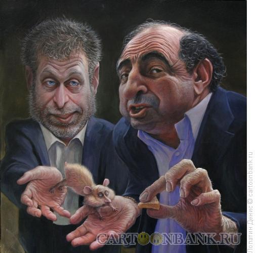 Карикатура: Кто знал в 1999-м?, Лопатин Денис