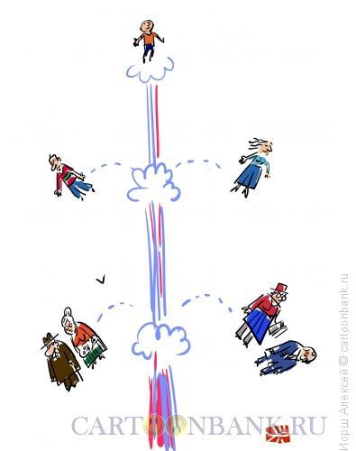 Карикатура: Ракета, Иорш Алексей
