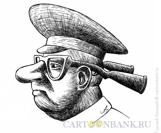 Карикатура: очки, Гурский Аркадий
