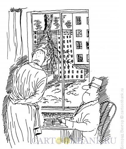 Карикатура: Психо, Богорад Виктор