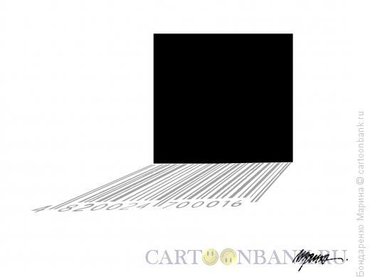 Карикатура: Чёрный квадрат, Бондаренко Марина