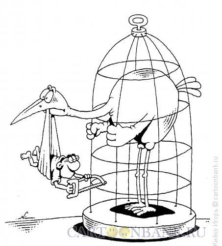 Карикатура: Объединение усилий, Кийко Игорь