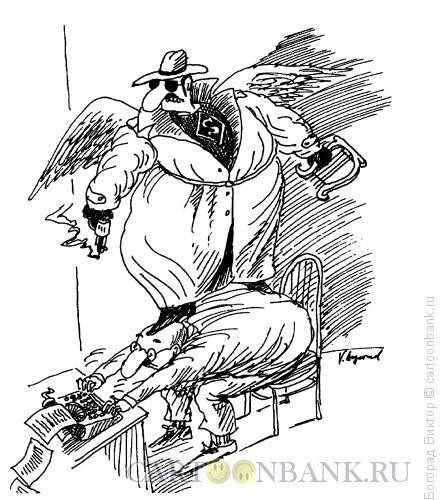Карикатура: Супермуза, Богорад Виктор