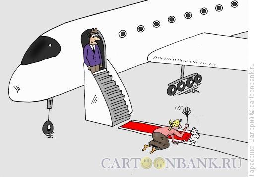 Карикатура: Не ждали, Тарасенко Валерий