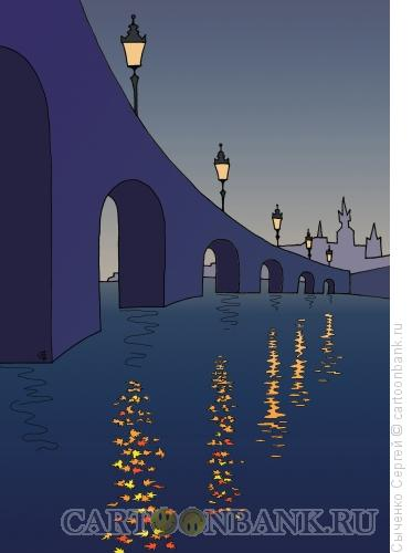 Карикатура: Осеннее - 2, Сыченко Сергей