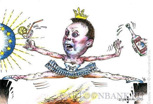 Карикатура: Виктор Янукович, Смаль Олег