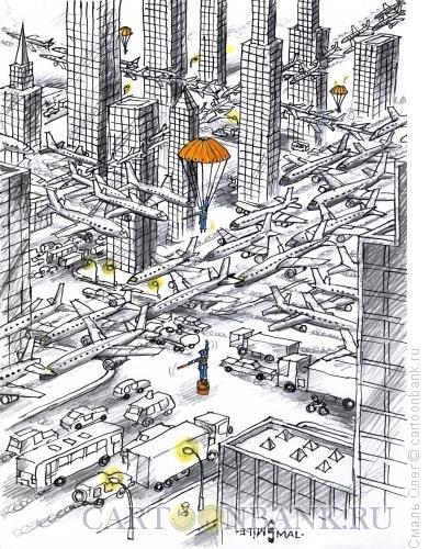 Карикатура: Хаос в мегаполисе, Смаль Олег