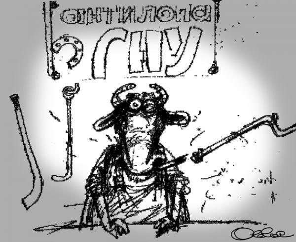 Карикатура: Предпринимательство, Олег Горбачёв