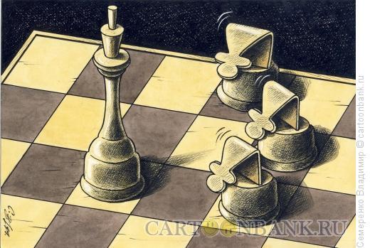 Карикатура: Преклонение, Семеренко Владимир