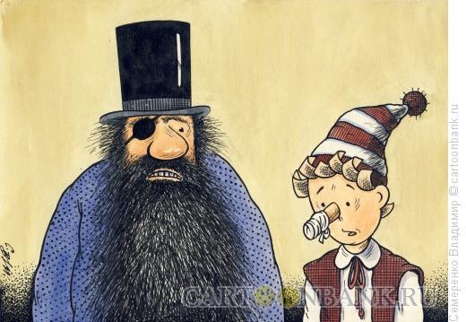 Карикатура: Око за око..., Семеренко Владимир
