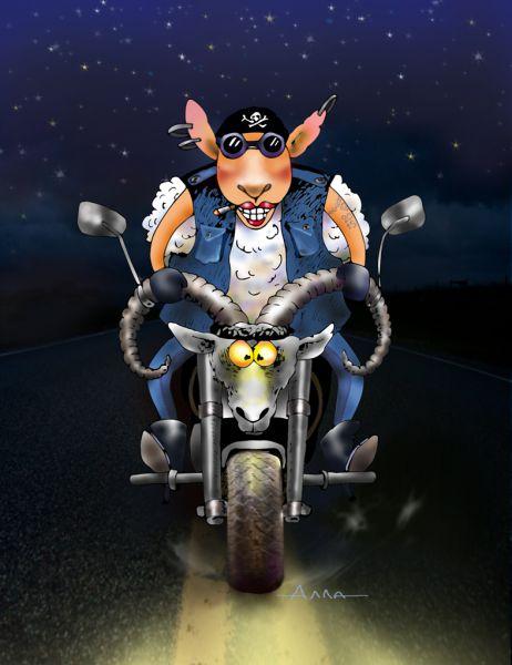 Карикатура: Вперед!, Алла Сердюкова