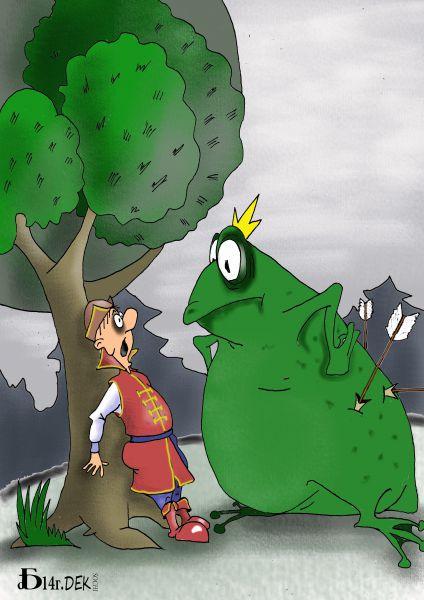 Карикатура: В тридевятом царстве, БАД