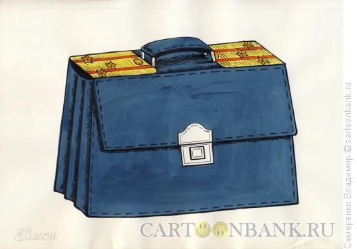Карикатура: Звездный портфель, Семеренко Владимир