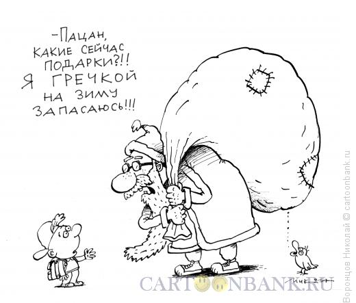 Карикатура: Гречка, Воронцов Николай