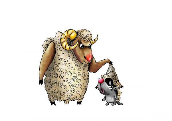 Карикатура: В овечьей шкуре, Александр Ануфриев