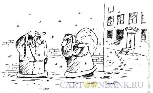 Карикатура: Постовой, Шилов Вячеслав