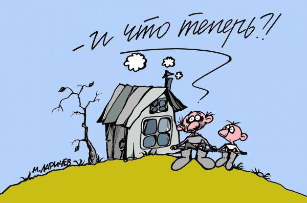 Карикатура: Настоящий мужчина, Михаил Ларичев