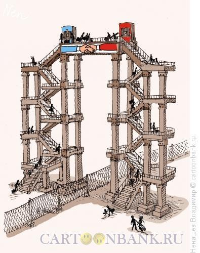 Карикатура: Дружба народов, Ненашев Владимир