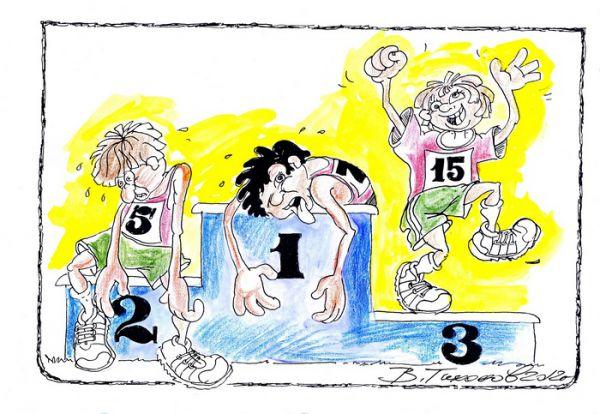 Карикатура: Победа, Владимир Тихонов