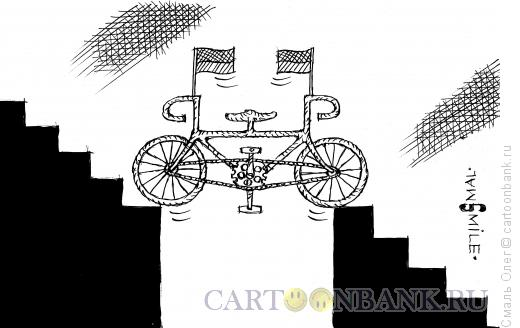 Карикатура: Украинский евросипед, Смаль Олег