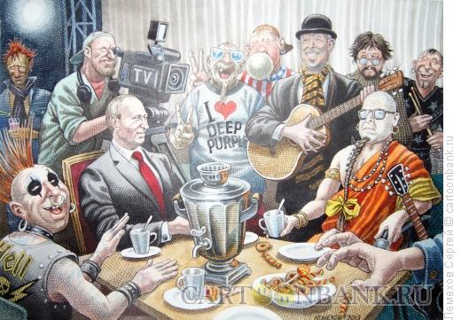 Карикатура: История русского рока, Лемехов Сергей