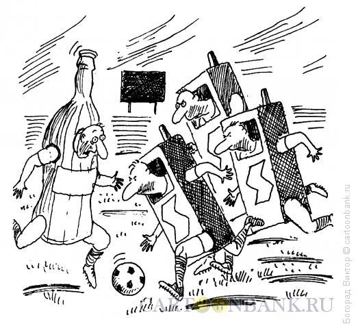 Карикатура: Реклама и спорт, Богорад Виктор