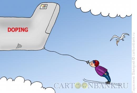 Карикатура: Рекордсмен, Тарасенко Валерий