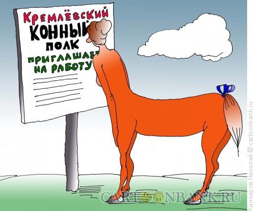Карикатура: Поиск работы, Кинчаров Николай