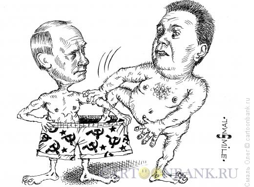 Карикатура: Янукович возвращается!, Смаль Олег