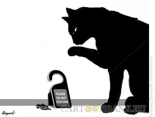 Карикатура: Не беспокоить, Богорад Виктор
