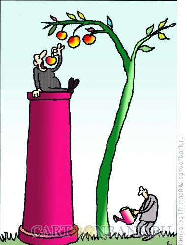 Карикатура: Верхи и низы, Кинчаров Николай