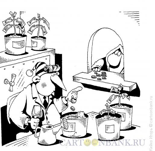 Карикатура: Буратино на должности, Кийко Игорь
