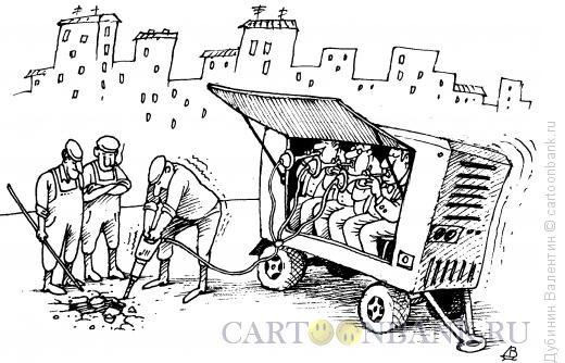 Карикатура: Компрессор, Дубинин Валентин