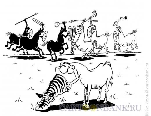 Карикатура: Нейтралитет, Кийко Игорь