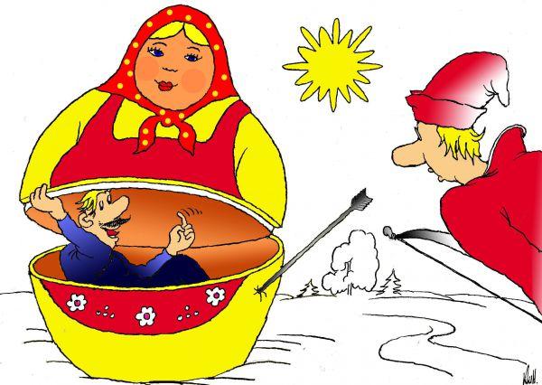Карикатура: Однако, Николай Кинчаров